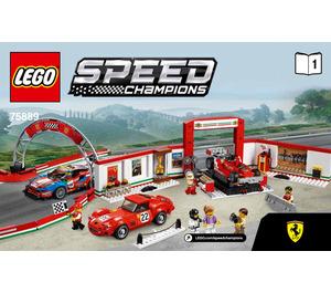 Lego Ferrari Ultimate Garage 75889 Instructions Brick Owl Lego Marktplatz