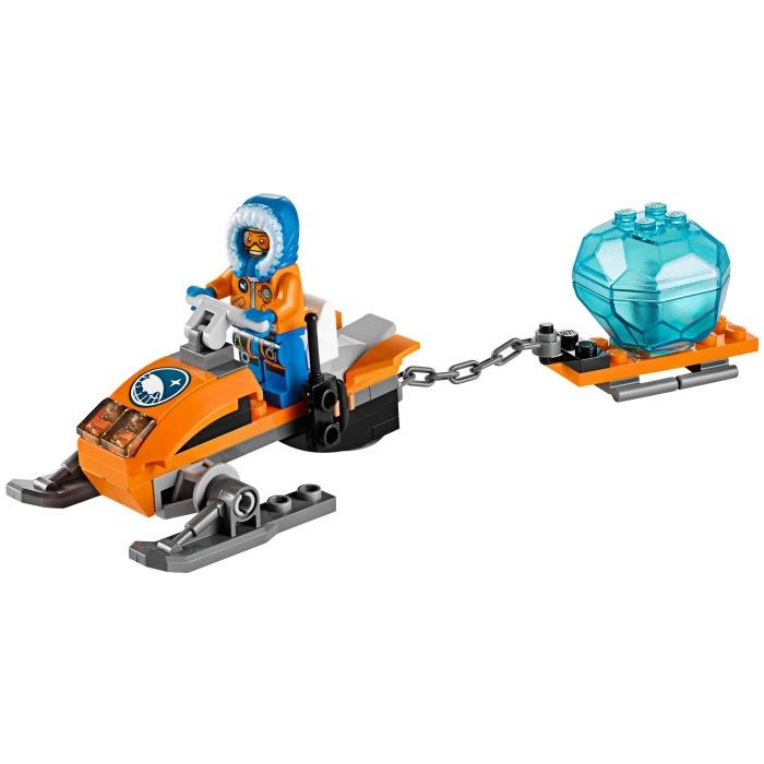 lego arctic snowmobile set 60032 brick owl lego marketplace. Black Bedroom Furniture Sets. Home Design Ideas