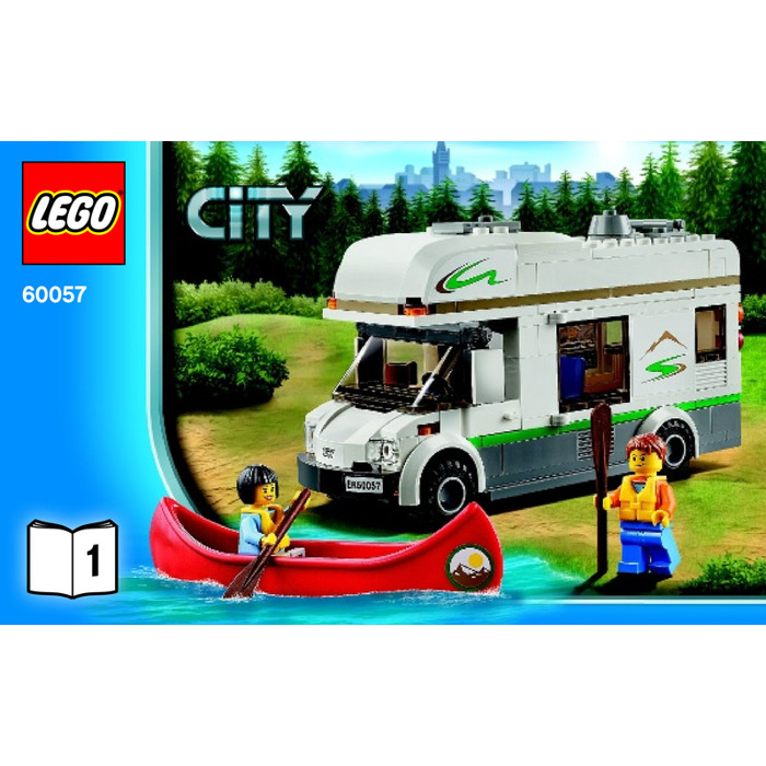 lego caravan instructions 60057