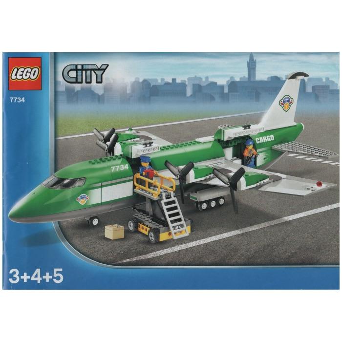 LEGO Cargo Plane Set 7734 | Brick Owl - LEGO Marketplace