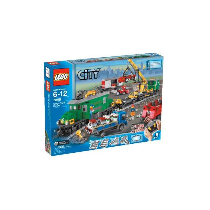 lego cargo train deluxe instructions