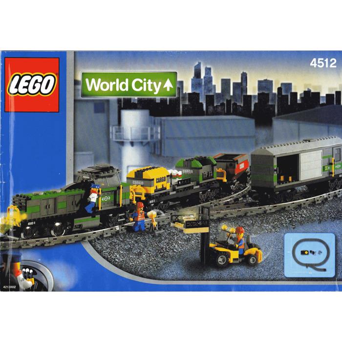 Lego Steam Train Set Lego Cargo Train Set