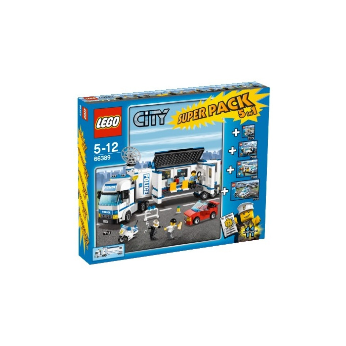 lego city police station 7744 instructions