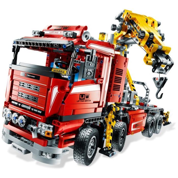 Lego Crane Truck Lego Crane Truck Set 8258