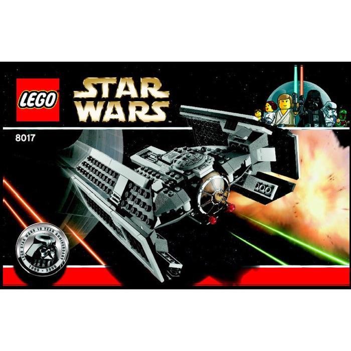 LEGO Darth Vader's TIE Fighter Set 8017 Instructions ...