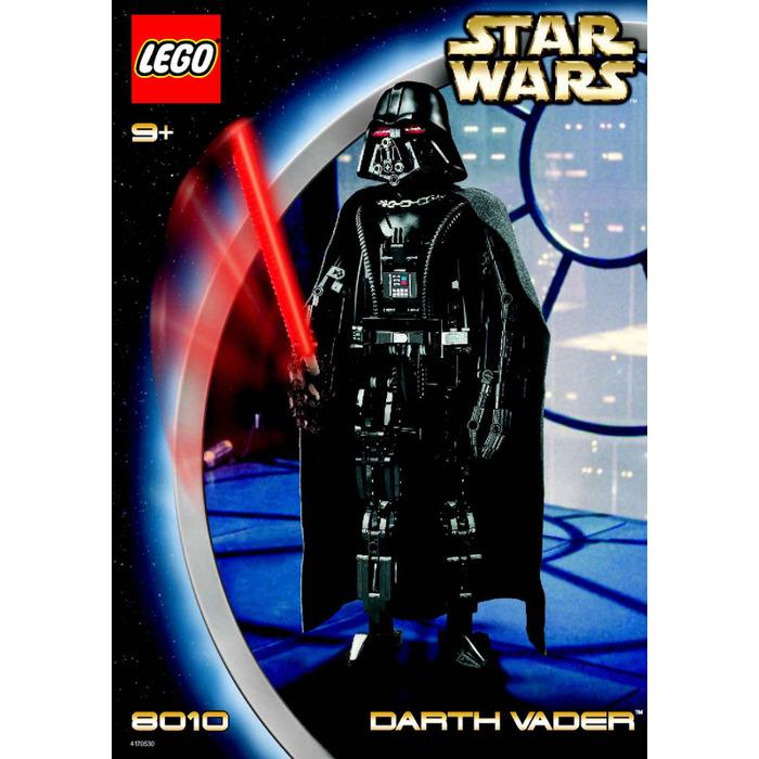 Lego 7251 Darth Vader Transformation Set Parts Inventory Darth