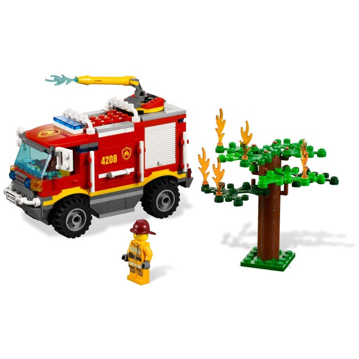 Lego Fire Truck Set 4208 Brick Owl Lego Marketplace