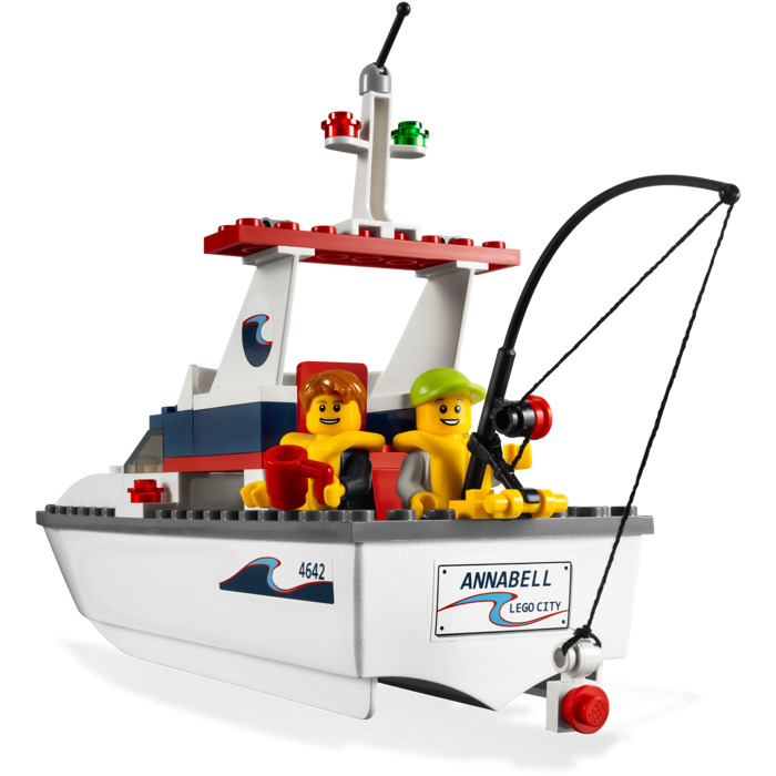 lego fishing boat set 4642 brick owl lego marketplace