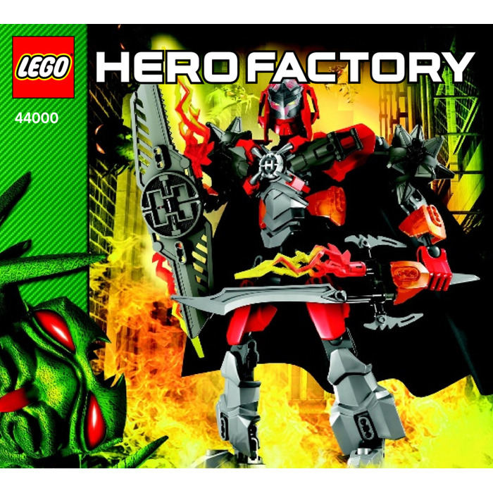 hero factory brain attack bulk instructions