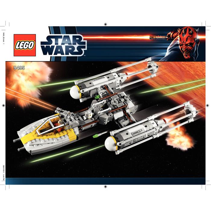 Buy Lego Star Wars Y Wing Starfighter: LEGO Gold Leader's Y-wing Starfighter Set 9495