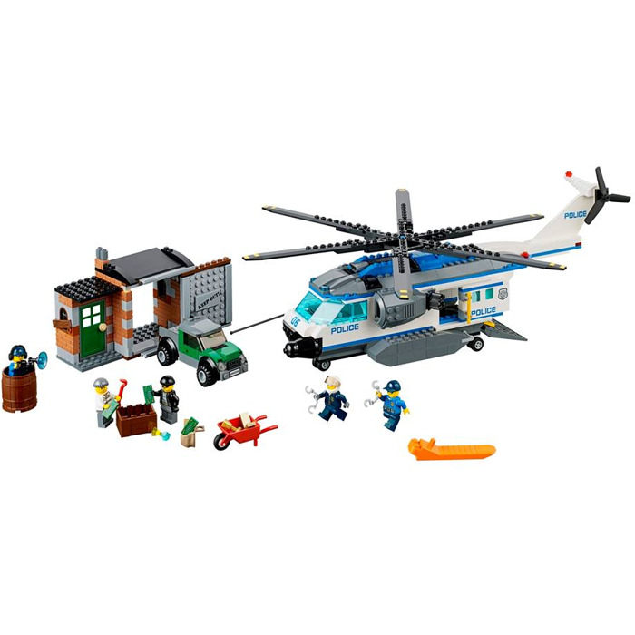 Catalog > LEGO Sets > City > Police > LEGO Helicopter Surveillance Set