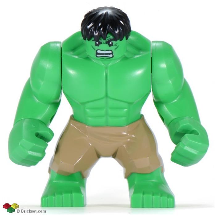 LEGO Hulk Supersized Minifigure | Brick Owl - LEGO Marketplace