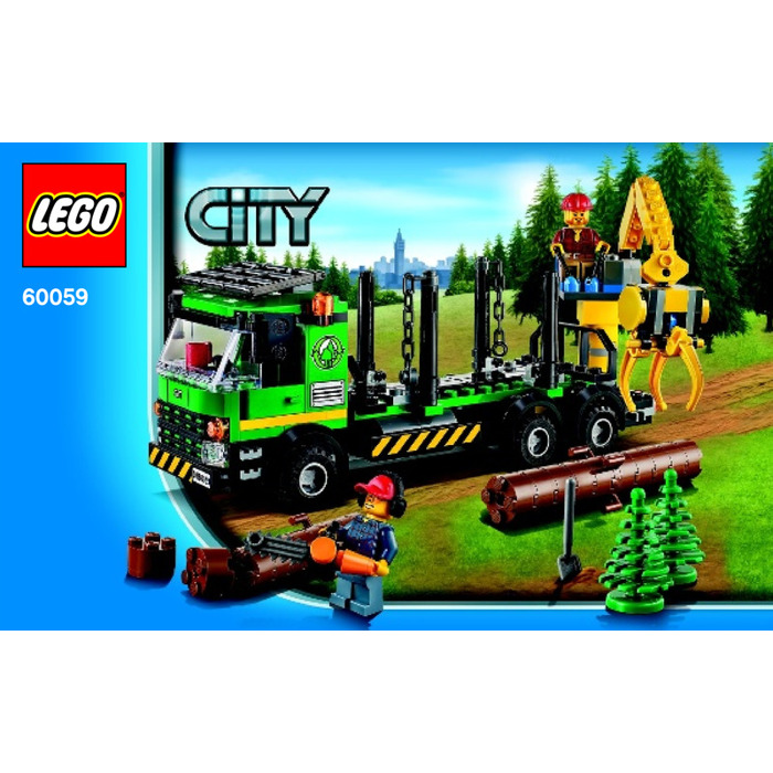 lego logging truck - photo #35