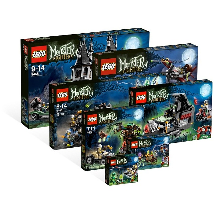 Monster fighters gt virtual product collection gt lego monster fighters