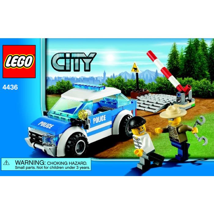 Lego Police Car Instructions Olivero