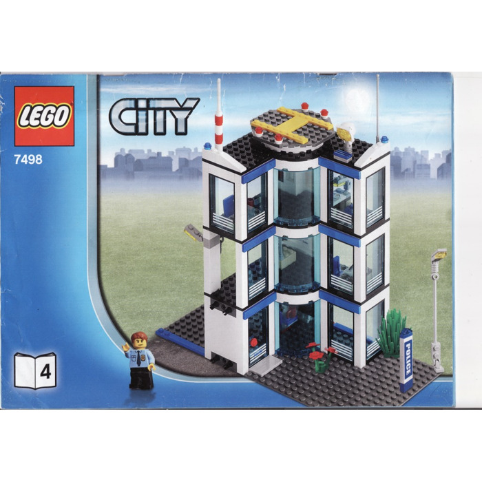 Lego Police Station Lookup Beforebuying