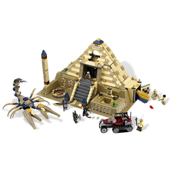 Catalog gt lego sets gt pharaoh s quest gt lego scorpion pyramid set 7327