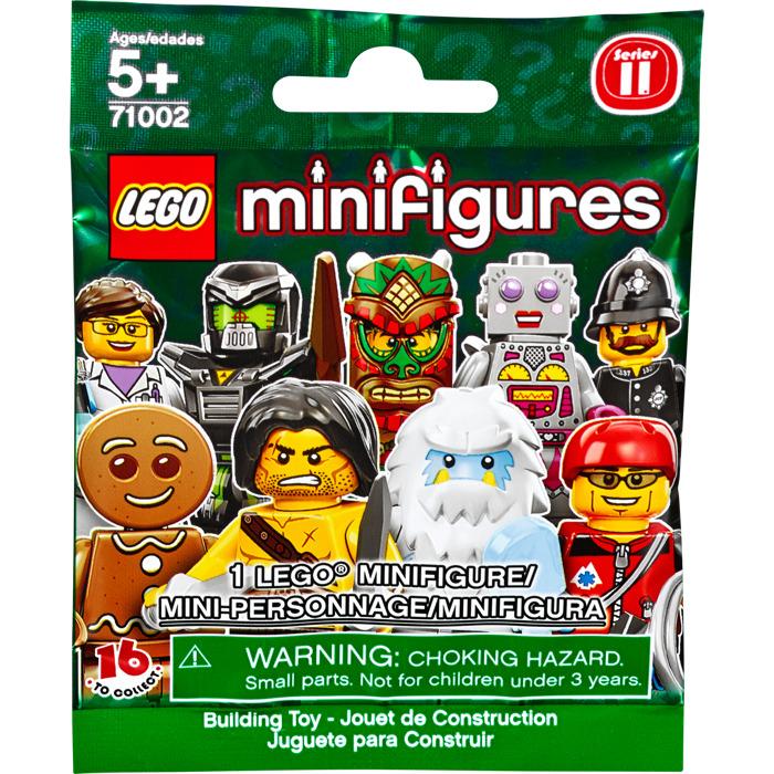 LEGO Series 11 Minifigure - Random Bag Set 71002-0 | Brick ...