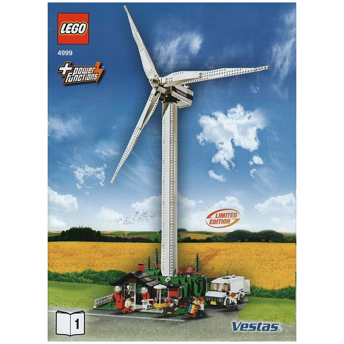 ... > LEGO Sets > City > General > LEGO Vestas Wind Turbine Set 4999