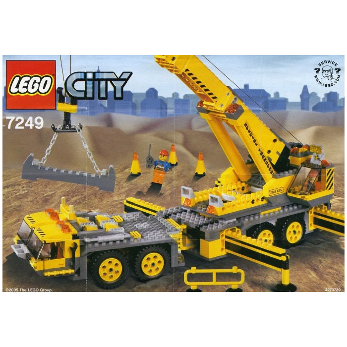 Lego City Crane City Construction Crane