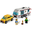 LEGO Car and Caravan Set 4435