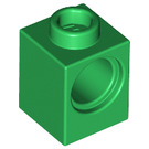 LEGO Green Technic Brick 1 x 1 with Hole (6541)