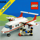 LEGO Med-Star Rescue Plane Set 6356 Instructions